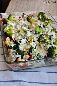 Simply Recipes, New Recipes, Vegetarian Recipes, Roasted Zucchini Salad, Good Food, Yummy Food, Healthy Snacks, Food And Drink, Lunch
