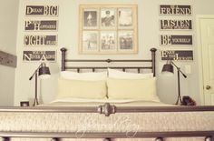 A Boys Teen Bedroom with a handful of DIY tutorials used to create this space.