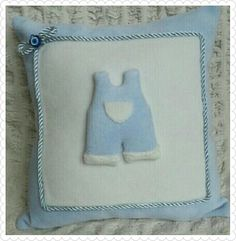 Erkek Bebek Takı Yastığı