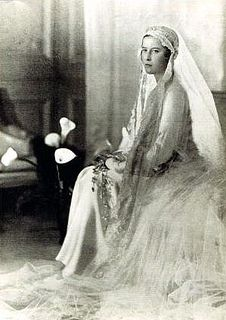 Princess Sophia of Greece and Denmark.26 June 1914-3 November 2001.Daughter of Prince Andrew of Greece & Denmark (1882-1944) & Princess Victoria Alice Elizabeth Julia Marie of Battenburg (1885-1969).House of Schleswig-Holstein-Sonderburg-Glucksburg (birth).House of Hesse-Kassel (1st marriage).House of Hanover (2nd marriage