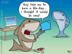 Shark Week FUNNY! #SharkWeek