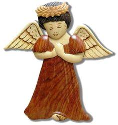 Buns Of Maui - Hawaiian Style Handmade Wood Christmas Ornament Angel, $14.49 (http://www.bunsofmaui.net/hawaiian-style-handmade-wood-christmas-ornament-angel/)