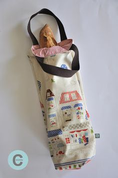 Tuto bread bag More - Baby Leggings, Hand Bags 2017, Bread Bags, Couture Sewing, Simple Bags, Reusable Bags, Courses, Handmade Bags, Sewing Online
