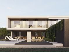 modern house Modern Architects, Sweden, Minimalism, Exterior, Mansions, Architecture, House Styles, Projects, Instagram