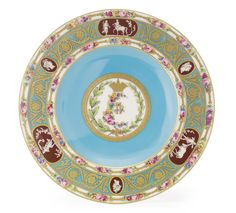 A Porcelain Plate after the Cameo Service, Minton's, circa 1900 | lot | Sotheby's