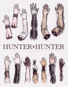 This is...I don't know how to feel about this...Except that there should be 3 of Hisoka's arms/hands up there. (If you're caught up in the manga you'll understand) Hunter x Hunter Severed Arms