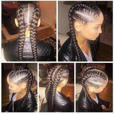 Cornrow design                                                                                                                                                     More