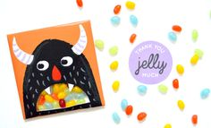 Jellybean Monster Favour Bags