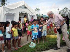 Los niños, vulnerables tras la tormenta