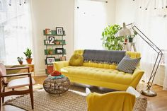 Interior crisp: Personal interior: Elsie from the Beautiful Mess blog