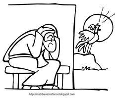 Mis Dibujos Cristianos: Pedro y el gallo / Peter and the rooster