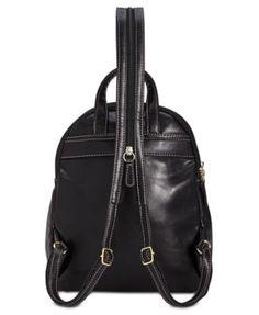 Giani Bernini Turn-Lock Glazed Backpack