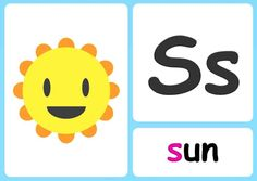 S alphabet flashcards Sing The Alphabet, Alphabet Phonics, Alphabet Songs, Alphabet Charts, Small Letters, Lower Case Letters, Phonics Chart, Learning Phonics, Phonics Sounds