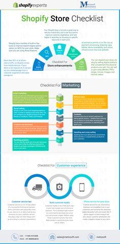 Shopify #store checklist from expert shopify partner #Shopify  #Web  #Website #Designer #Development #Company