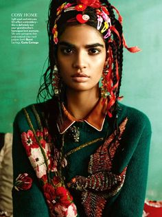she-loves-fashion: Bhumika Arora by Bharat Sikka for Vogue India October 2015