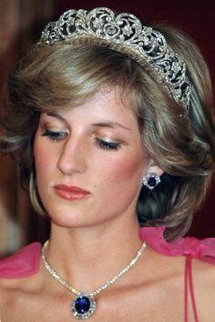Princess Diana Tiara, Princess Diana Fashion, Princess Diana Pictures, Princess Of Wales, Royal Princess, Lady Diana Spencer, Vogue Paris, Kate Middleton, Prinz Carl Philip