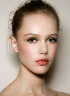 """Achieving the """"No-makeup"""" makeup look isn't as hard as it looks, let us show you how. This look is a perfect blend of sexy and sweet for Spring 2013."""