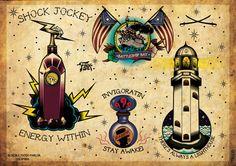 Bioshock Infinite - American Tradicional by Cuckoo Martins, via Behance