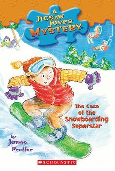 Jigsaw Jones #29: The Case of the Snowboarding Superstar  (eBook)
