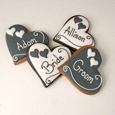 customcookieco.co_.uk-Black-and-White-wedding-hearts-£2.70.jpg (600×600)