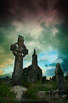 Ireland, I have a thing for old graveyards