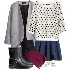"""""""Allison Inspired H&m Outfit"""" by veterization on Polyvore"""