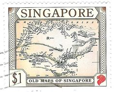 Singapore Stamp - Old Maps of Singapore photo Singapore_zps02791b00.jpg