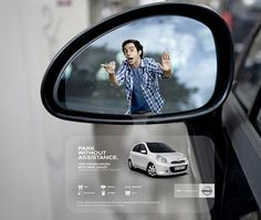 Nissan Guerilla-Marketing für Park-Assistent des Micra