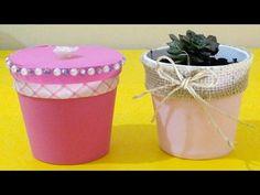 Do Lixo ao Luxo : Reciclando Pote de Sorvete do Mcdonalds - DIY Artesanato - YouTube