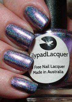 Lilypad lacquer black pearl