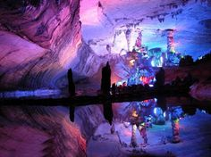 The Most Beautiful Caves in the World - Reed Flute Cave, China