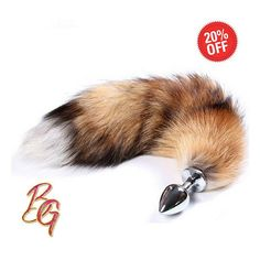 25258abdd3e This realistic looking extra fluffy fox tail butt plug looks incredible.  Size Of Tail The plug is a size (app. A true work of art created for your  lover and ...