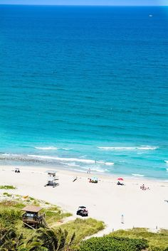 Beach view from the Marriott Singer Island Beach Resort & Spa