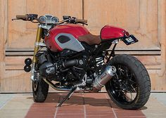 YOSHIMURA RS-3 Street Slip-On Exhaust System (SS/ALUM) 2014-2015 BMW R NINE T Nine T, Bmw Boxer, Cafe Racing, Bmw Cafe Racer, Street Bikes, Custom Bikes, Motorbikes, Slip On, Vehicles