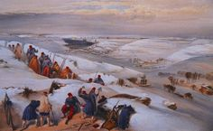 """Winter in the Trenches"" by William Simpson"