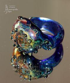 В Бермудском треугольнике.. Стекло ручной работы от Веры Викторовой. In the Bermuda Triangle. Handmade glass by Vera Viktorova