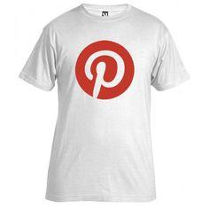 Nuestra camiseta de hoy que nos estrenamos en Pinterest no podría ser otra ¡Pinterest!