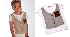 Dangerous fashion, serious style! T-Shirts with Vest - FREE SHIPPING ON ALL ORDERS!!