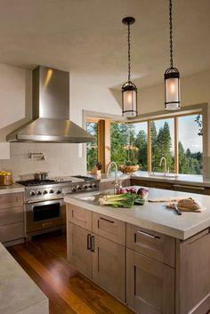 Cozinhas Com Bancadas De Concreto   Design Innova