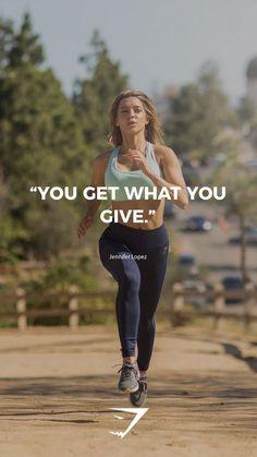 "25 +> ""You get what you give"" - Jennifer Lopez. - ""You get what you give"" – Jennifer Lopez. Sport Motivation, Motivation Sportive, Gewichtsverlust Motivation, Fitness Motivation Pictures, Female Fitness Motivation, Bikini Body Motivation, Fitness Workouts, Fitness Goals, Fun Workouts"
