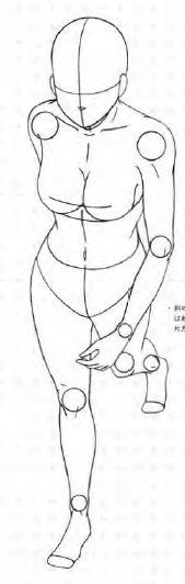 キャラクターをつくろう! 少女イラスト見本帖,マルチアングル編 Base Pose Model Manga Anime 7