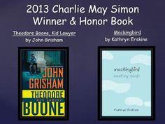 hoorayforbooks / Simon and Diamond Book Awards