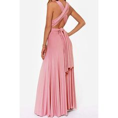 $22.02 Sexy Solid Color Backless A-Line Dress For Women