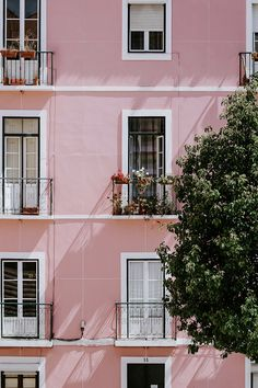 Baby Pink Aesthetic, Aesthetic Colors, Aesthetic Images, Aesthetic Backgrounds, Aesthetic Wallpapers, Aesthetic Collage, Photo Wall Collage, Picture Wall, Building Aesthetic
