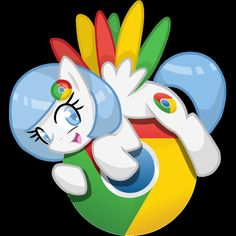 ✅Adopted by Neonlight✅ This is Chrome. She started the internet in Equestria. ALIAS:none