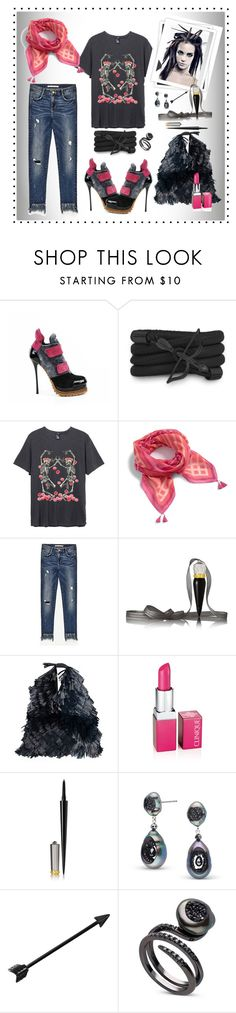 """Untitled #600"" by susans-sg ❤ liked on Polyvore featuring Gianmarco Lorenzi, Monza, Vera Bradley, GALA, Christian Louboutin, MM6 Maison Margiela and Clinique"