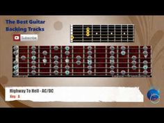Highway To Hell - AC/DC Guitar Backing Track with diagrams