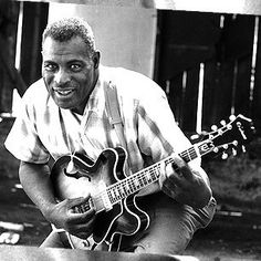 Chester Arthur Burnett known as Howlin' Wolf – June 10, 1910 – January 10, 1976 As one of the leading performers in electric blues, he helped shape the sound of rock and roll. Description from moonshinebluesbar.com. I searched for this on bing.com/images
