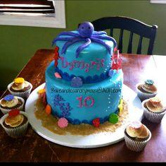 Cool cake.....very cute!