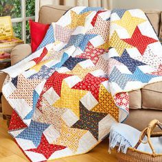 Todays Quilter 27 star quilt